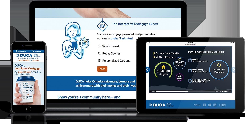 mortgage explainer video for DUCA