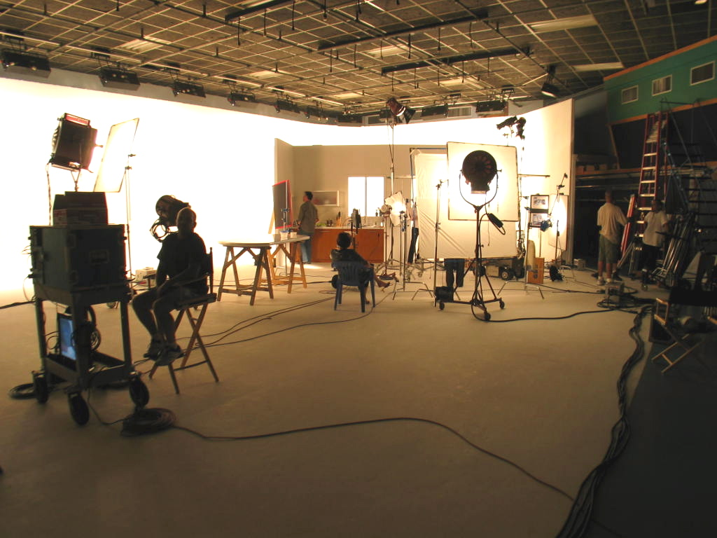 Video production studio.
